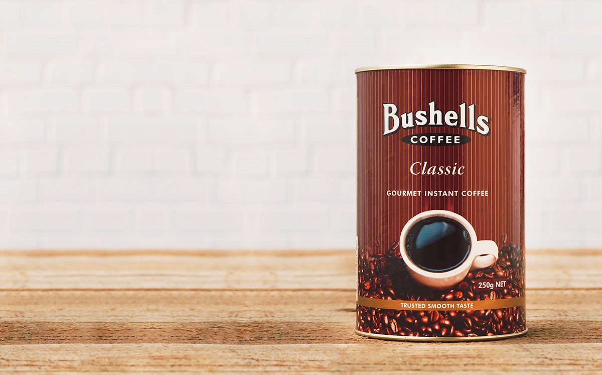 Have the classic Bushells Coffee taste delivered to your door